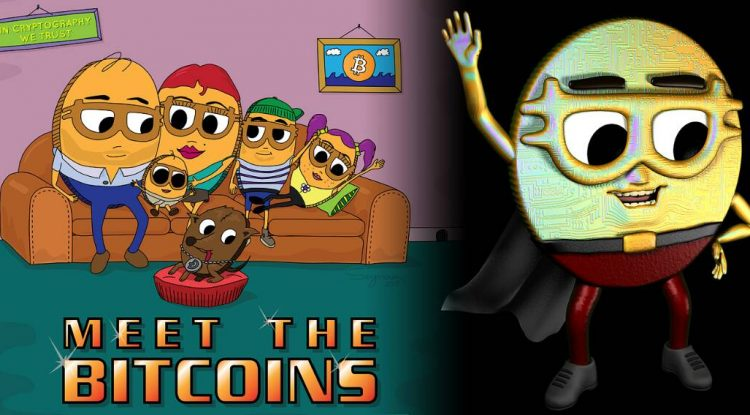 Serie animada sobre una familia de criptomonedas: Meet The Bitcoins