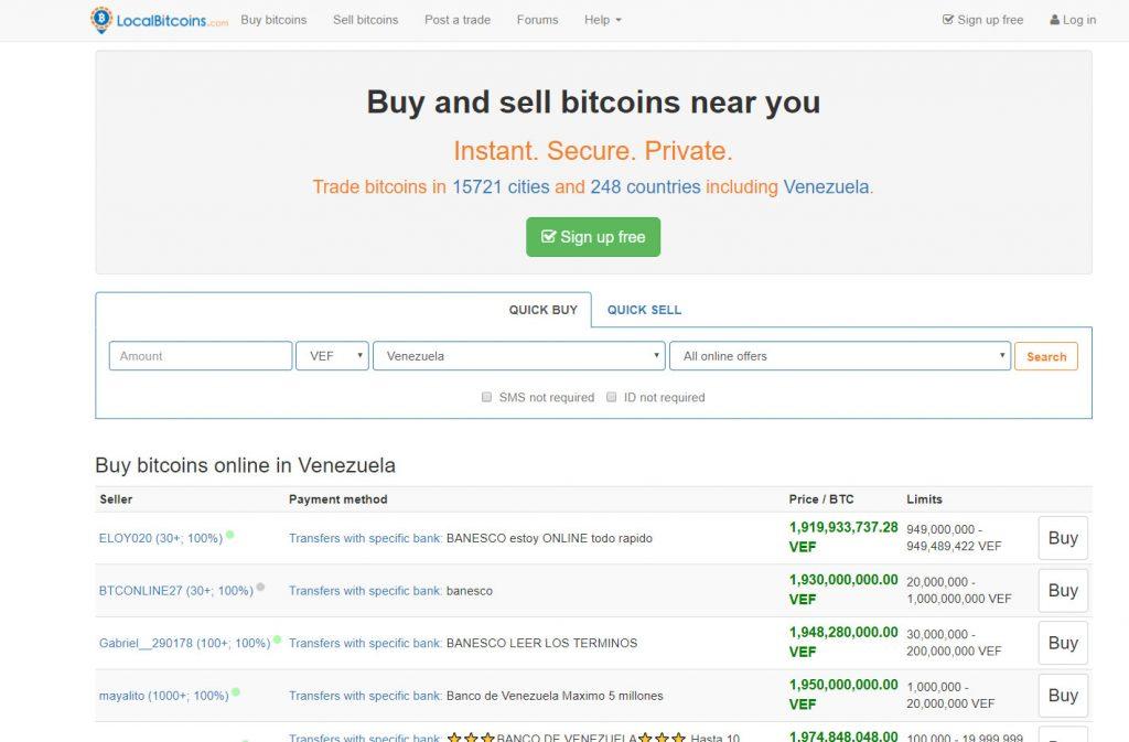 Como comprar bitcoin en localbitcoin