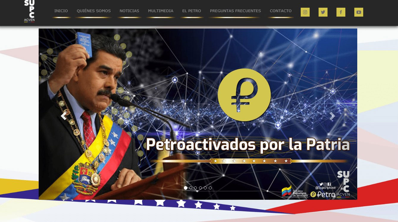 La superintendencia de los criptoactivos en Venezuela lanza su sitio web oficial