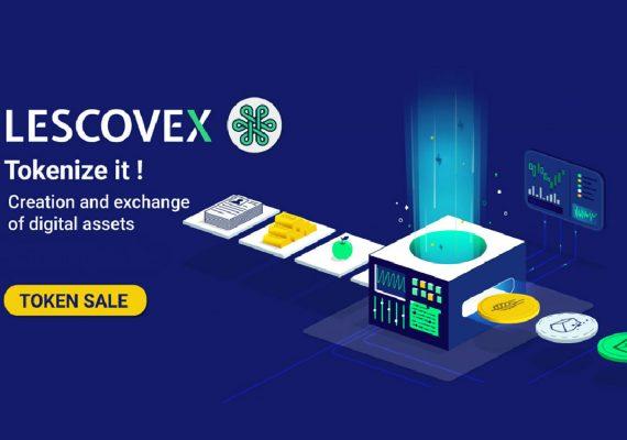 Lescovex anuncia el lanzamiento de la plataforma de Intercambio y creación de bienes digitales.