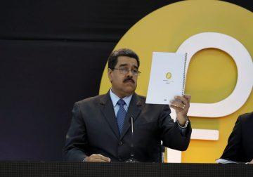 """Presidente venezolano anunció """"cifras falsas"""" sobre el ICO de El Petro"""