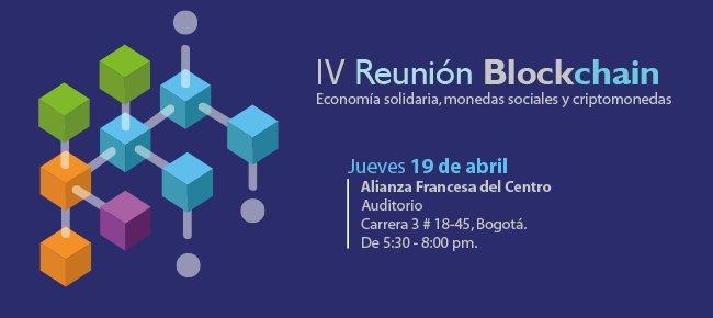 IV REUNIÓN BLOCKCHAIN en Colombia