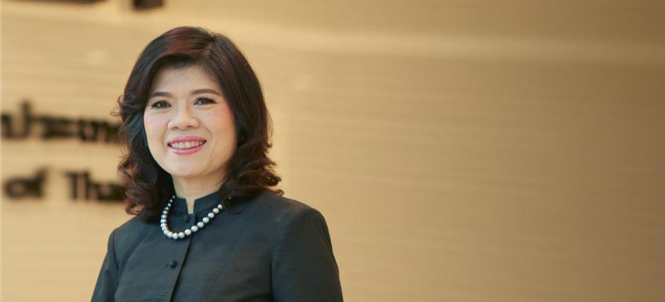Presidenta de la Bolsa de Valores de Tailandia Kesara Manchusree