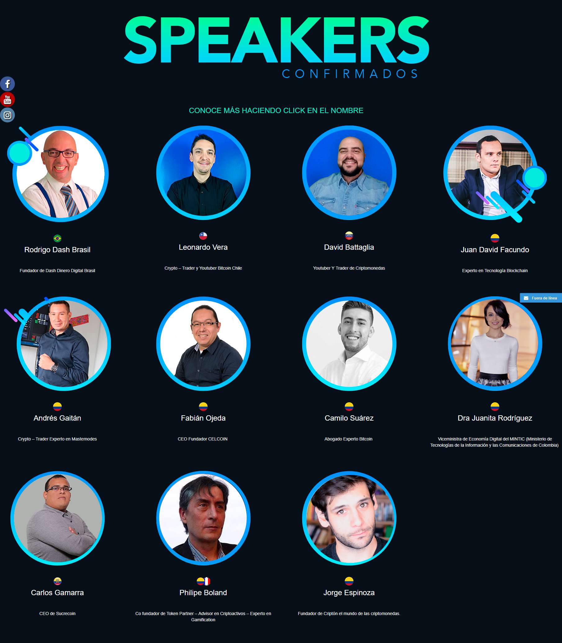 speakers en cripto latin fest