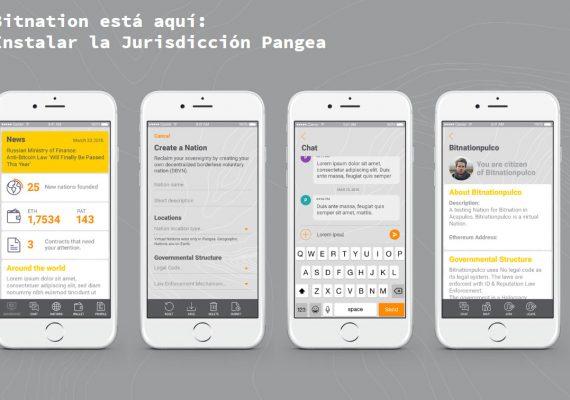 Bitnation estrena nueva app