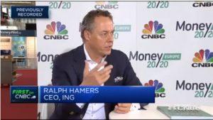 Ralph Hamers, director ejecutivo de ING Group en entrevista con CNBC