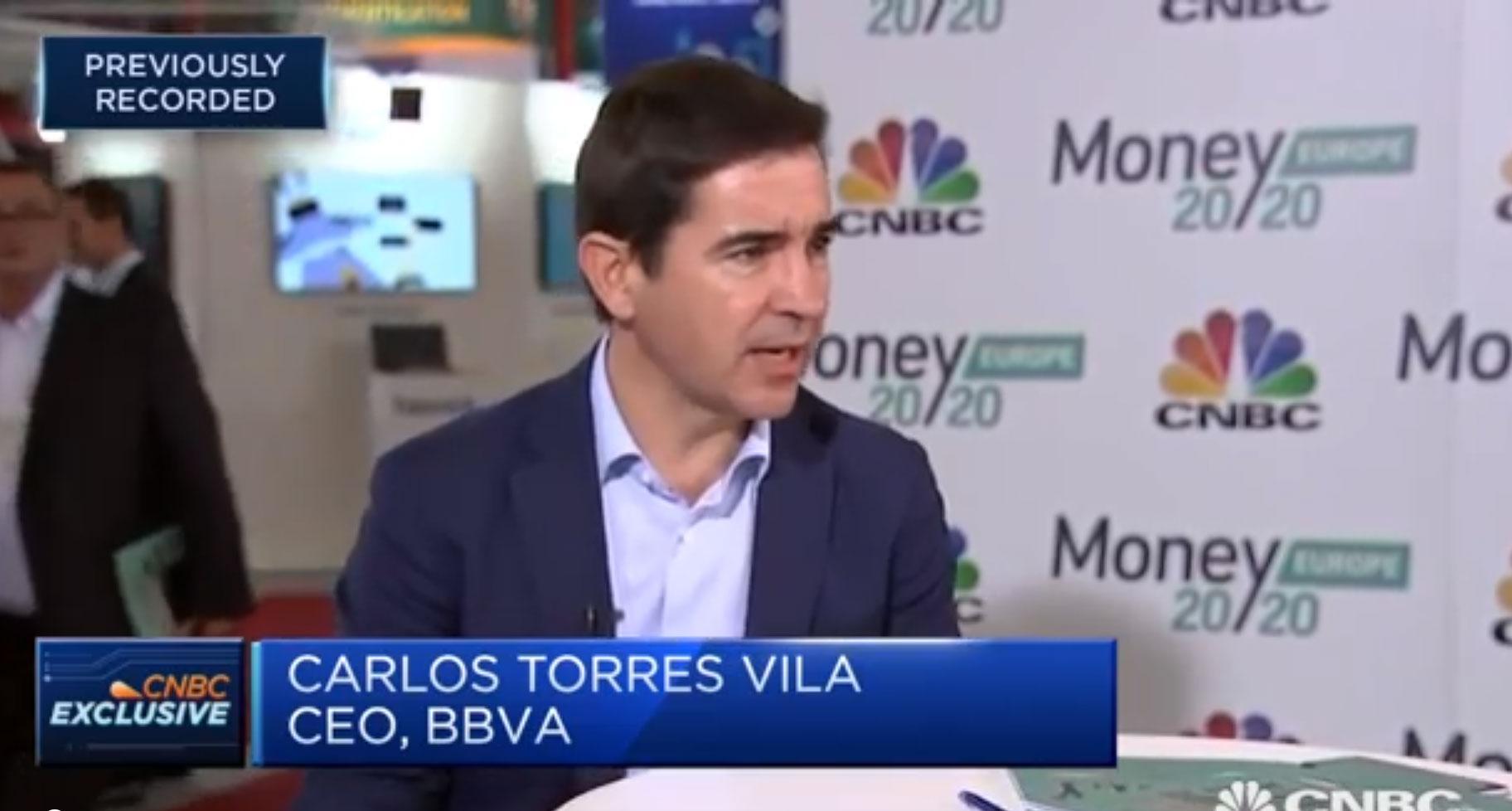 CEO de BBVA Carlos Torres Vila