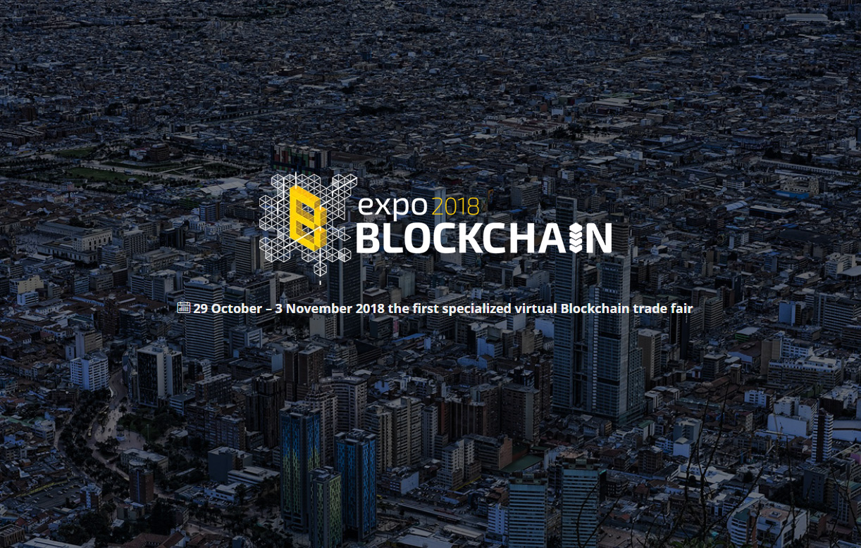 Evento virtual Expo Blockchain 2018