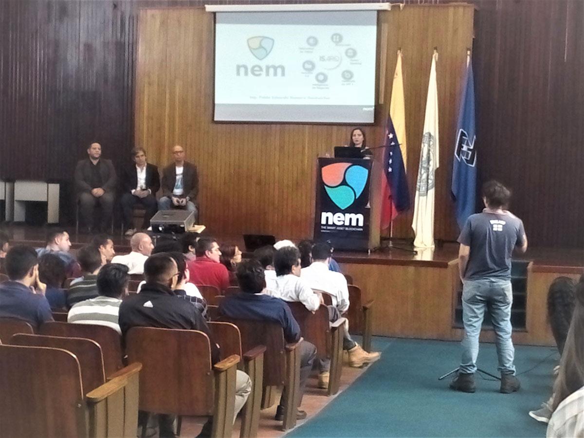 Conferencia de NEM en Caracas