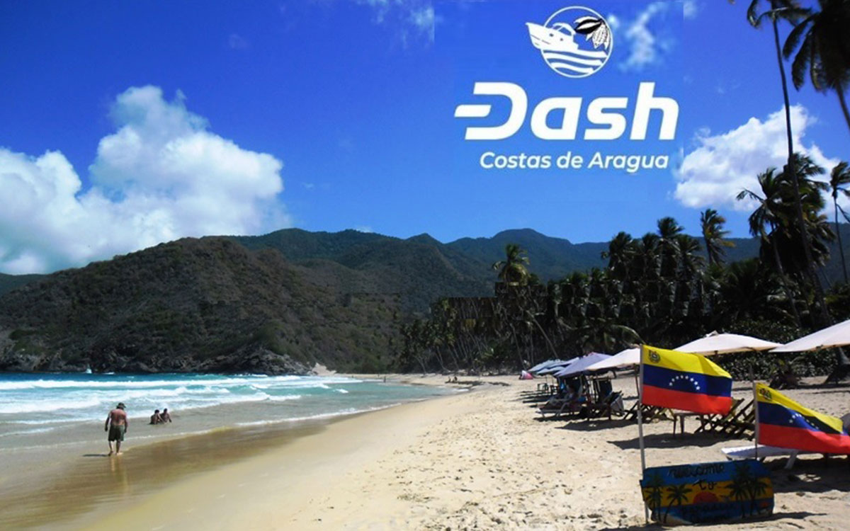 1er. Conversatorio de Dash – Dinero Digital en las Costas de Aragua
