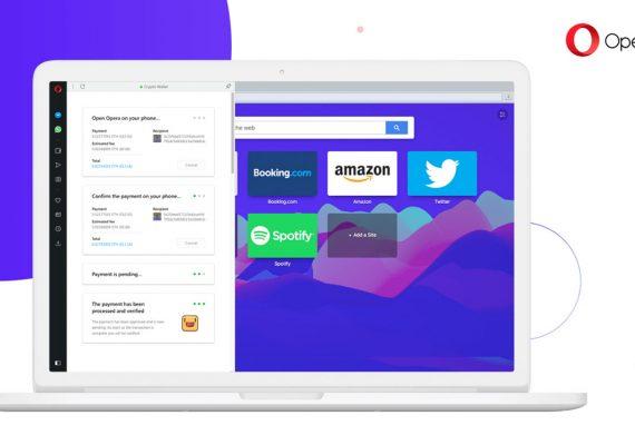 Opera planea incluir una billetera de criptomonedas a su navegador de escritorio