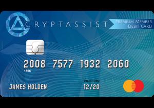 tarjeta de debito para criptomonedas