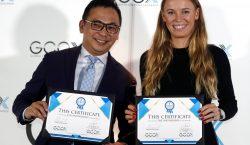 Caroline Wozniacki, tenista número dos del mundo, tendrá su propio…