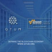 QTUM y Amazon Web Services anuncian sociedad