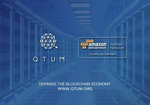 QTUM y Amazon Web Services anuncian sociedad