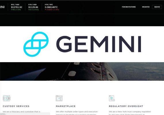 Gemini agregará Bitcoin Cash a su plataforma de intercambio criptográfico