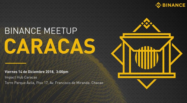 Meetup de binance en Caracas