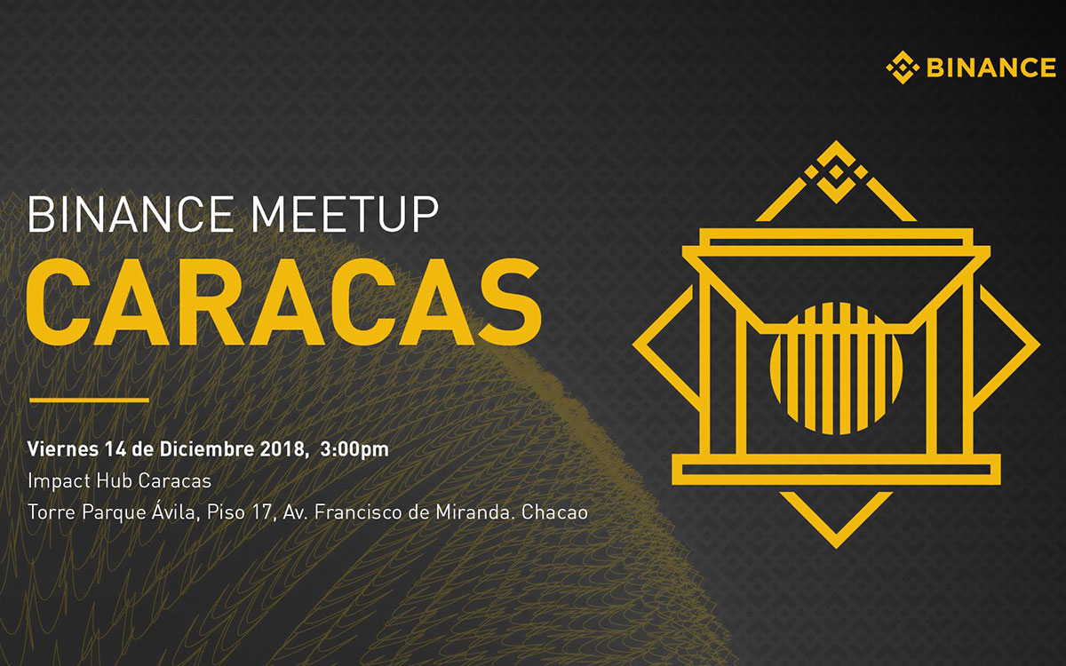 Meetup de binance en Caracas