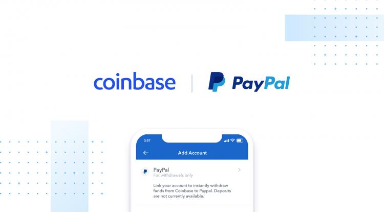 Coinbase-PayPal integración