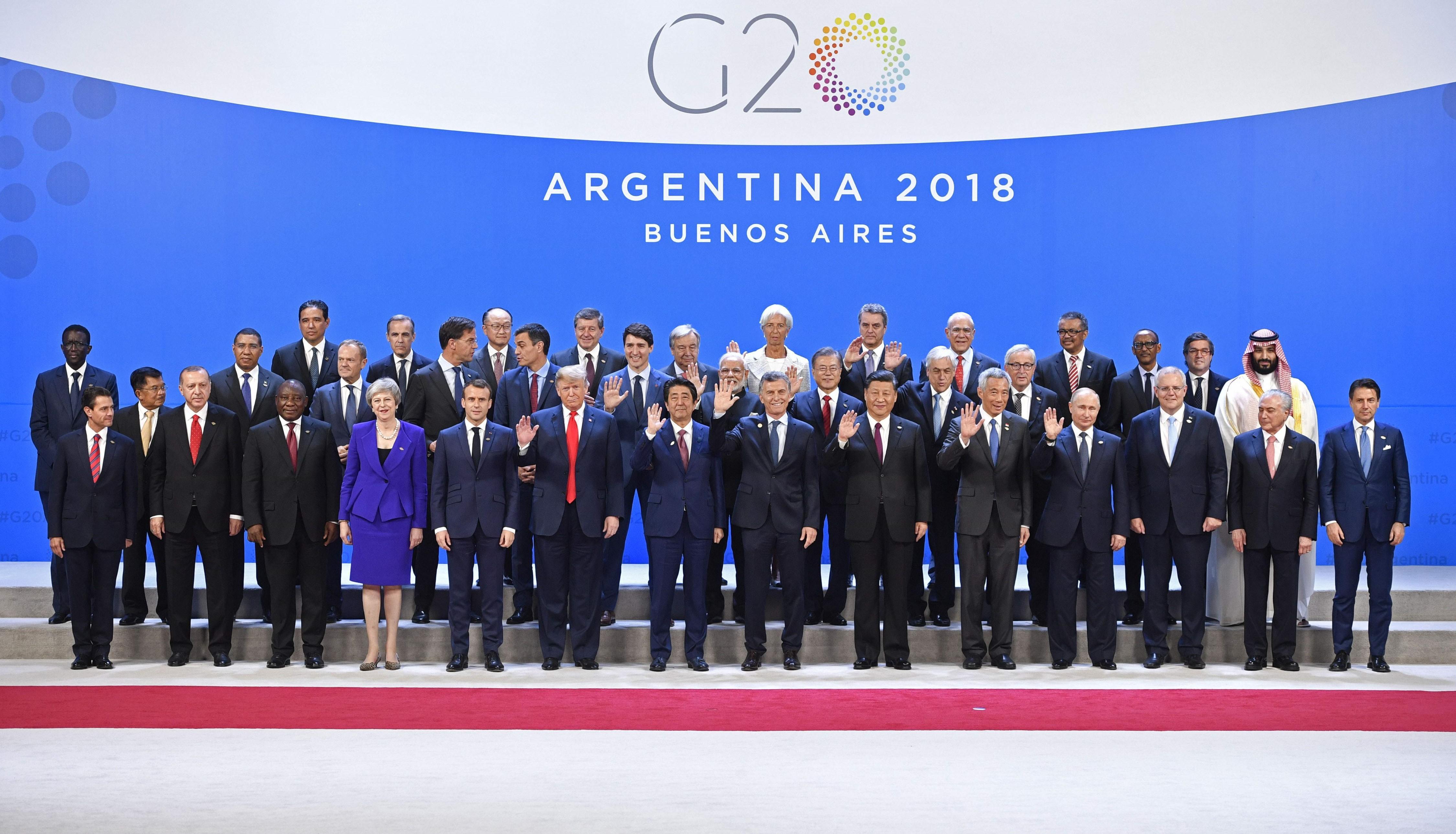 Reunión del G20 en Argentina