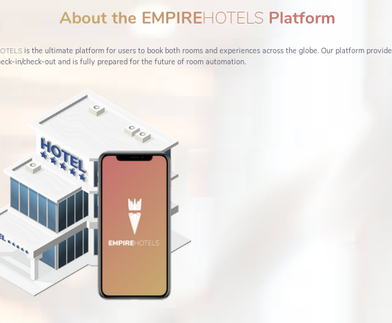 Empire Hotels, la blockchain cambiando el mundo hotelero