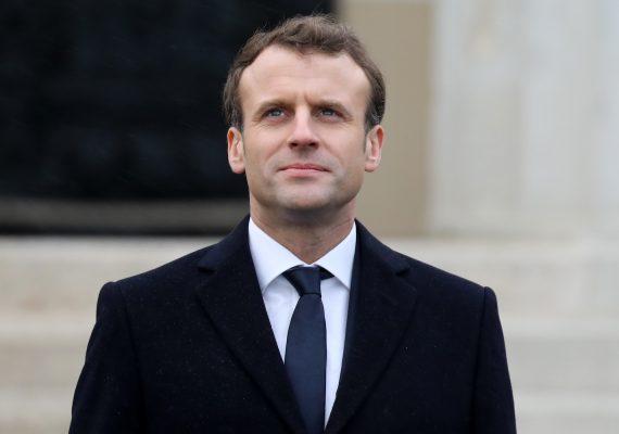 Macron defiende el uso de la blockchain