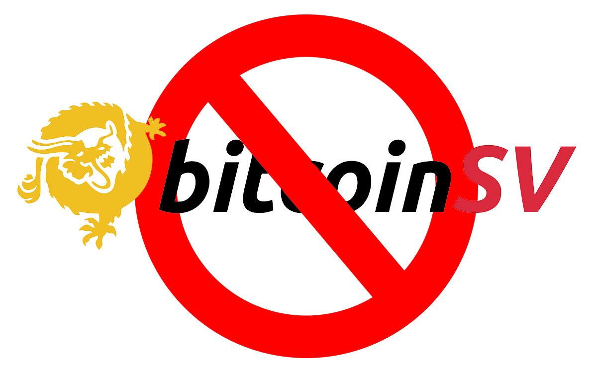 Binance anunció oficialmente el retiro de Bitcoin SV de su plataforma