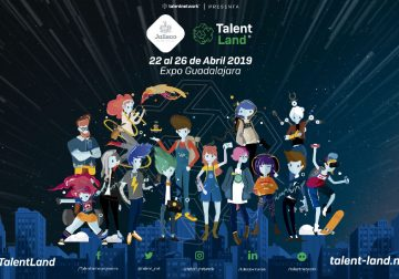 Blockchain Land un lugar dentro del evento Jalisco Talent del 22 al 26 de abril