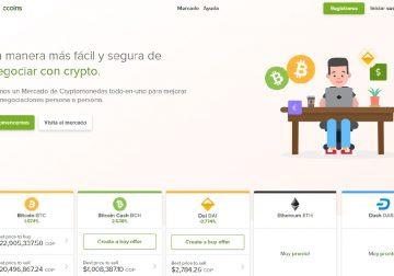 CCoins una nueva plataforma de intercambio peer-to-peer entra al mercado