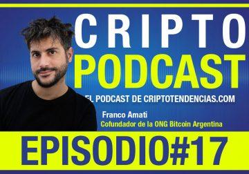 Episodio #17 con Franco Amati conversando de adopción y halving de bitcoin