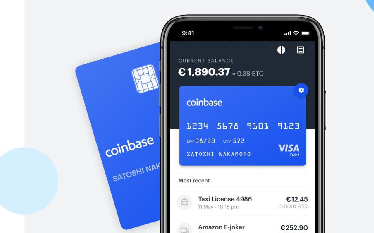 Coinbase planea lazan tu tarjeta débito en 6 nuevos países europeos