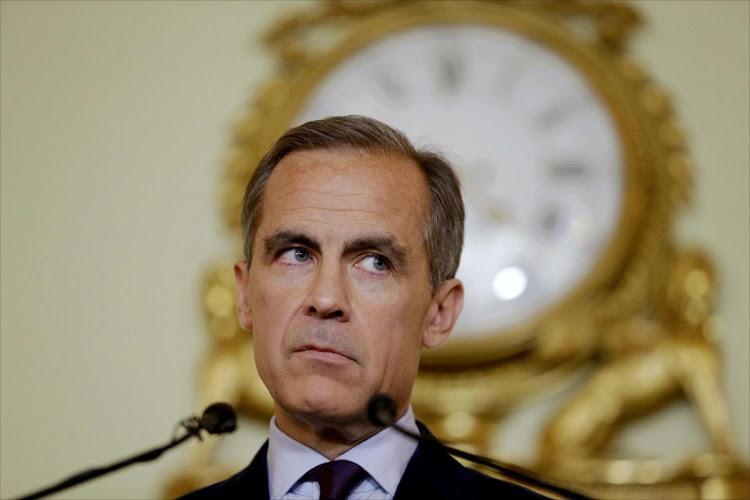 Gobernador del Banco de Inglaterra Mark Caney