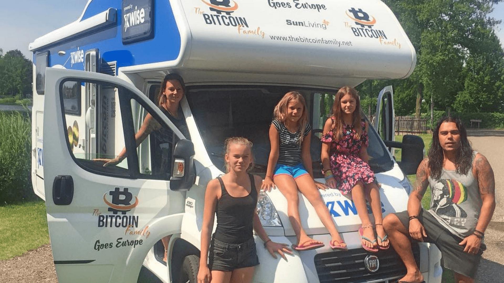 'Familia Bitcoin' se prepara para recorrer el mundo y educar a las personas sobre criptografía y blockchain
