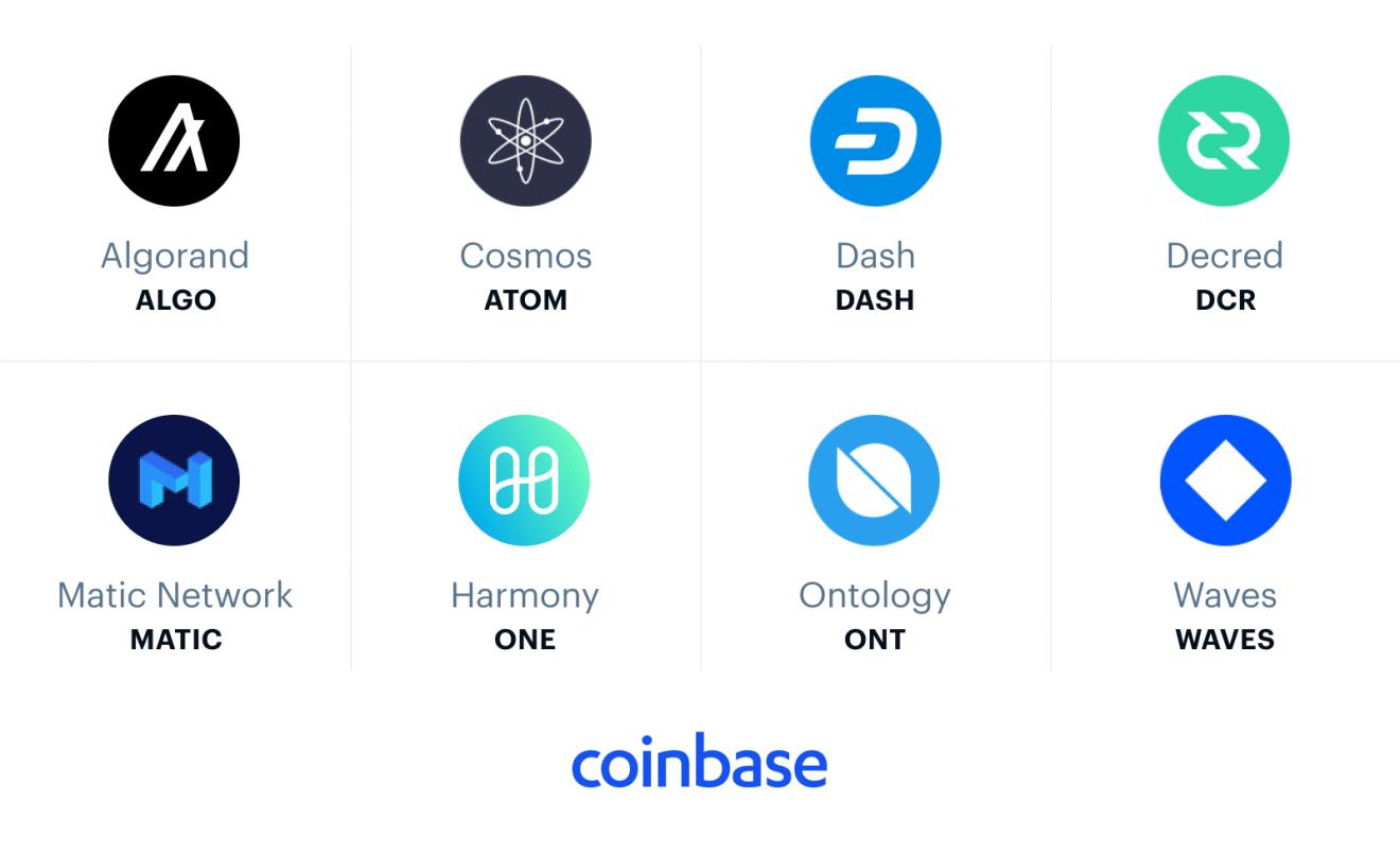 Coinbase considera incorporar ocho nuevas criptomonedas a su listado comercial, incluída DASH