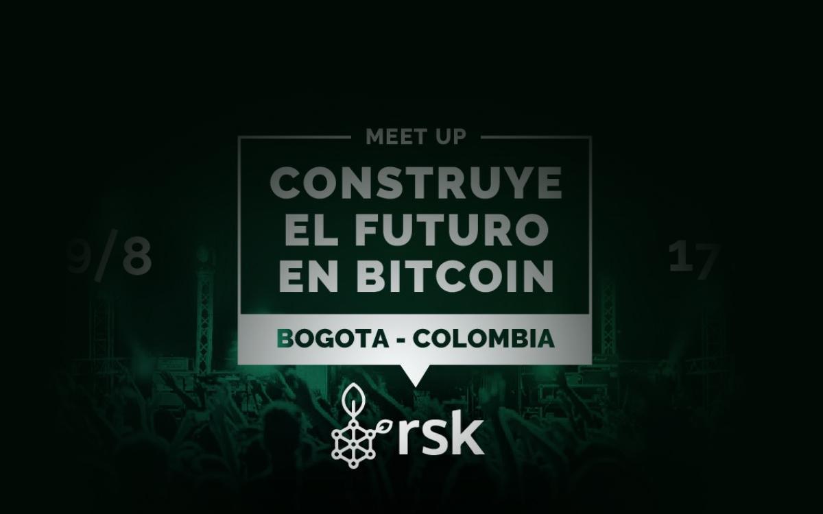 Primer meetup de RSK a más de 2600 metro de altura en Bogotá