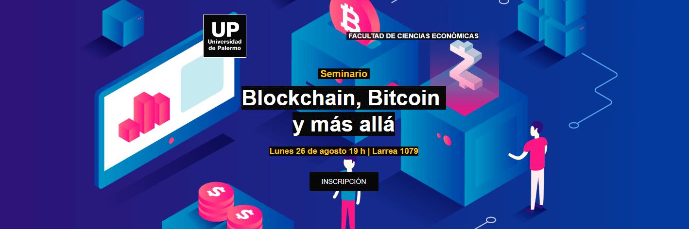 Universidad de Palermo dictará seminario sobre Blockchain y Bitcoin