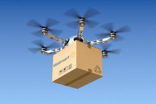 Drones de Walmart usarán tecnología blockchain en sus comunicaciones