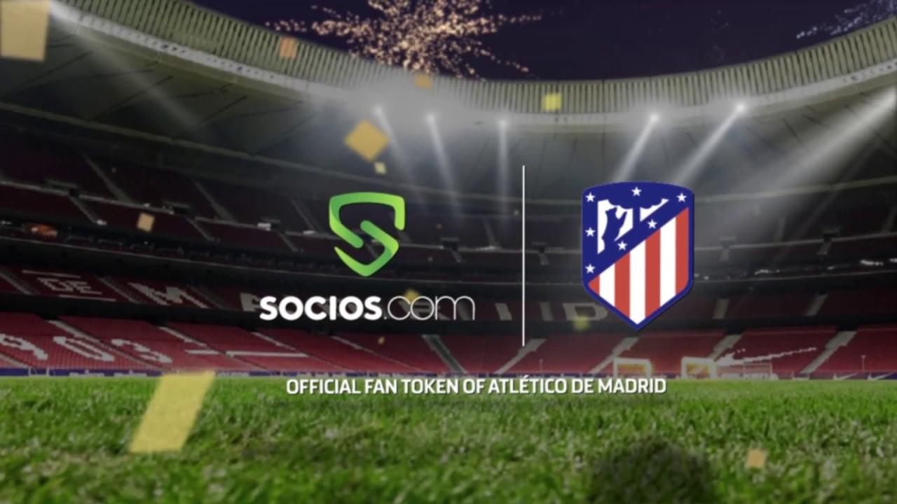 Atlético de Madrid se une a la plataforma blockchain Socios.com