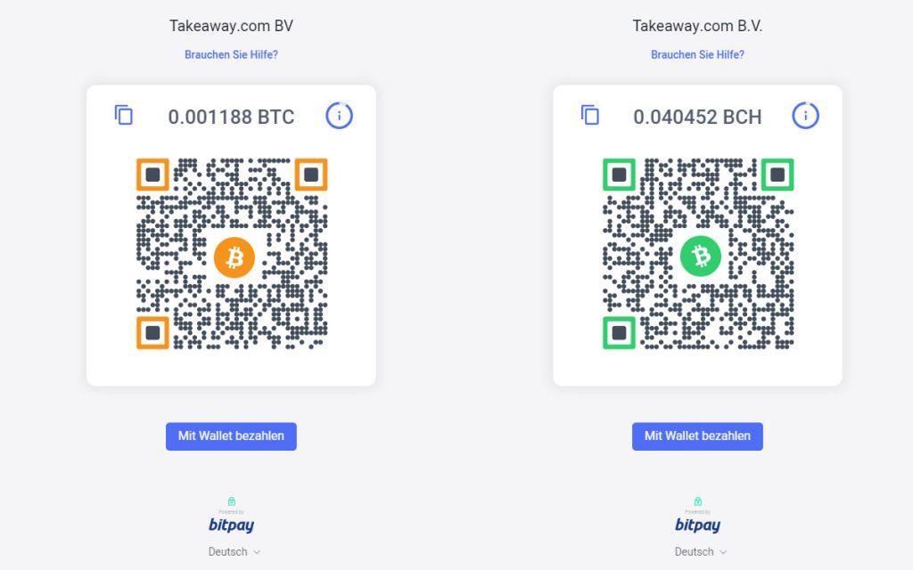 Pagos en bitcoin y bitcoin cash en burger king