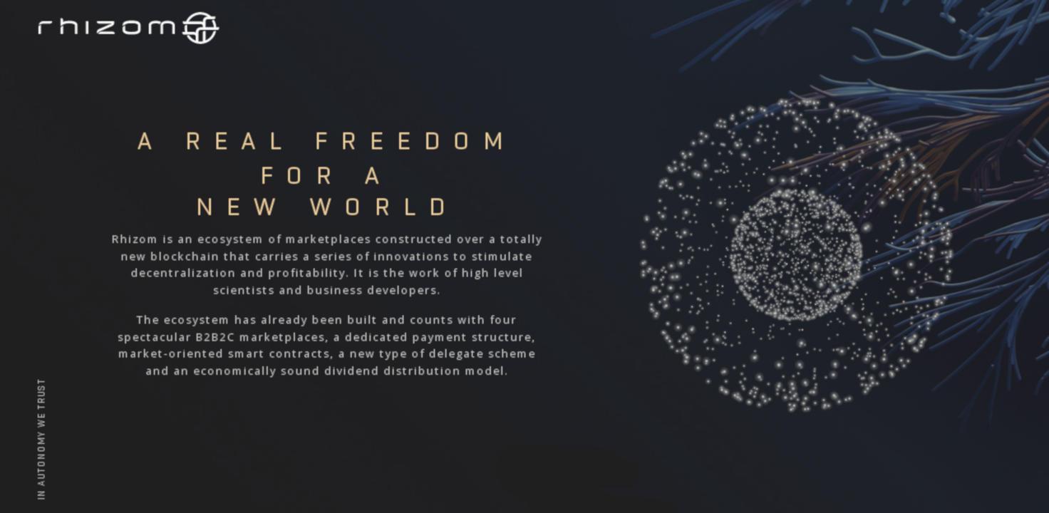 Rhizom plataforma blockchain con espiritú carioca