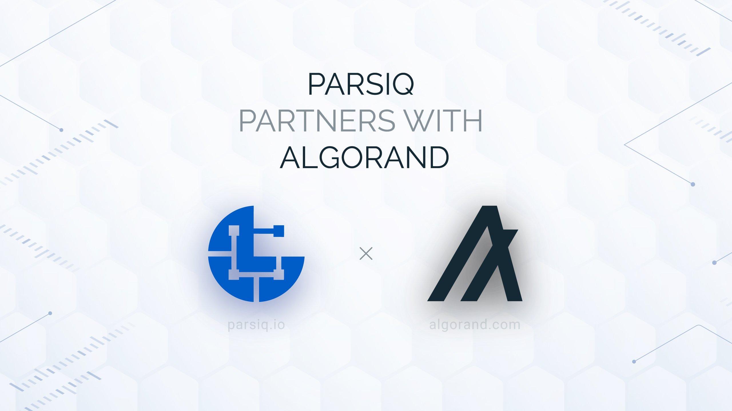 Algorand y Parsiq