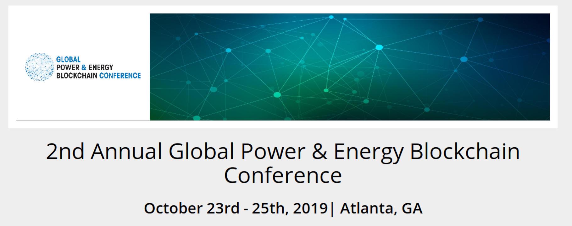 Atlanta se prepara para la 2da Conferencia Anual de Poder Global y Energía sobre Blockchain
