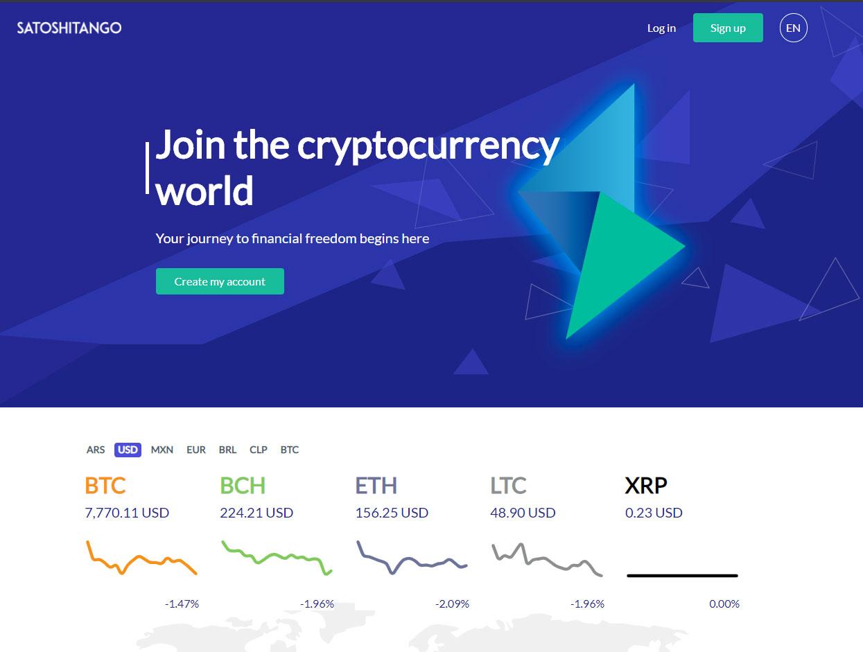 Comprar bitcoin y criptomonedas en argentina con SatoshiTango