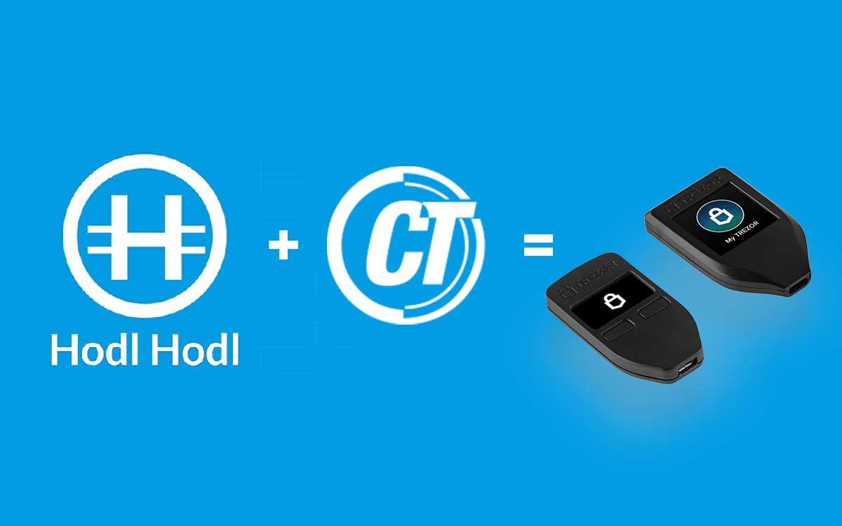 Participa y gana una wallet Trezor con Hold Hold y CriptoTendencias