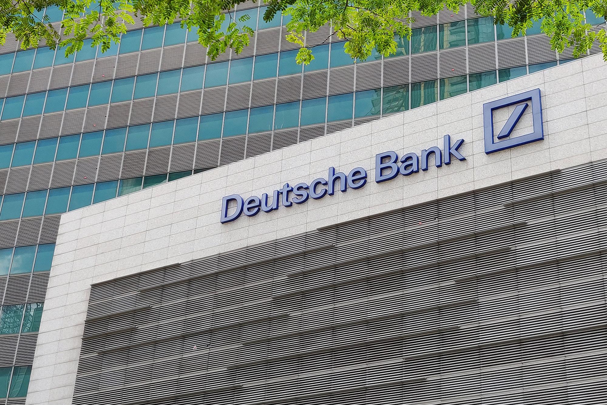 Deutsche Bank estudia la custodia de criptoactivos y la creación de una plataforma para emitir tokens
