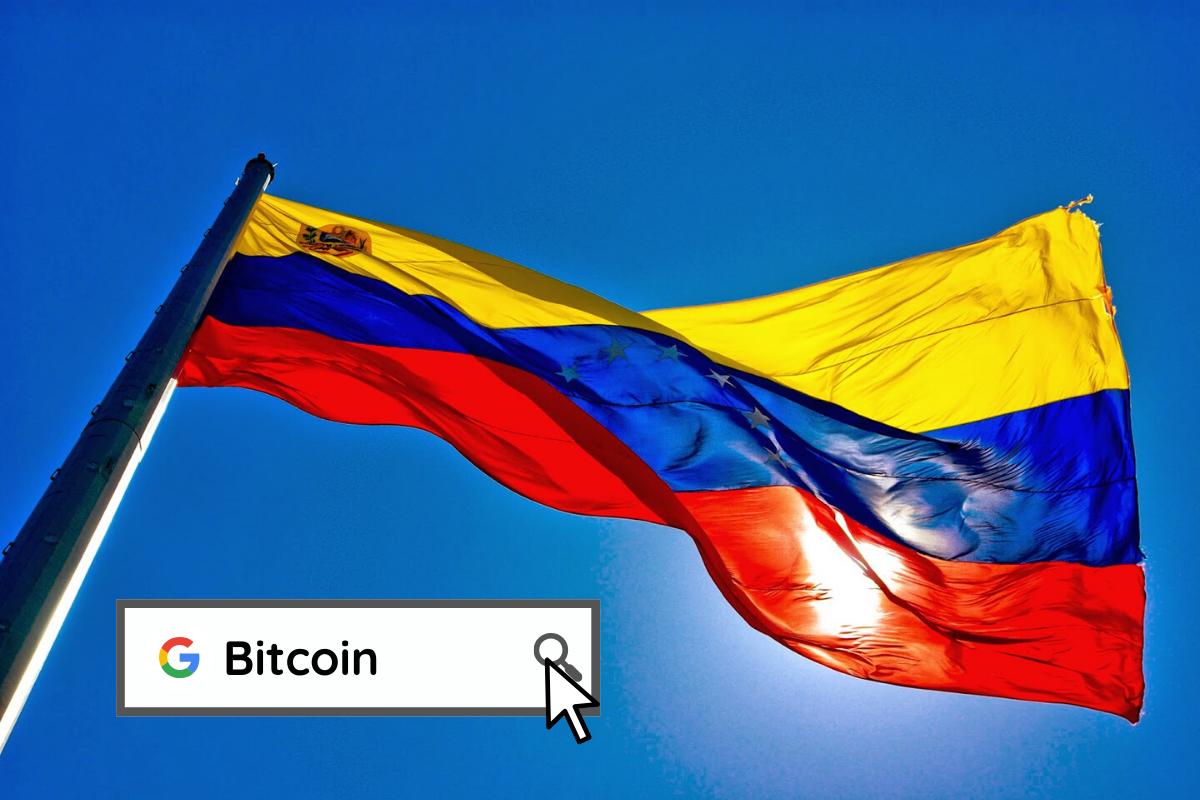 Venezuela ocupa el tercer lugar a nivel mundial de búsquedas en Google sobre Bitcoin durante el mes de enero