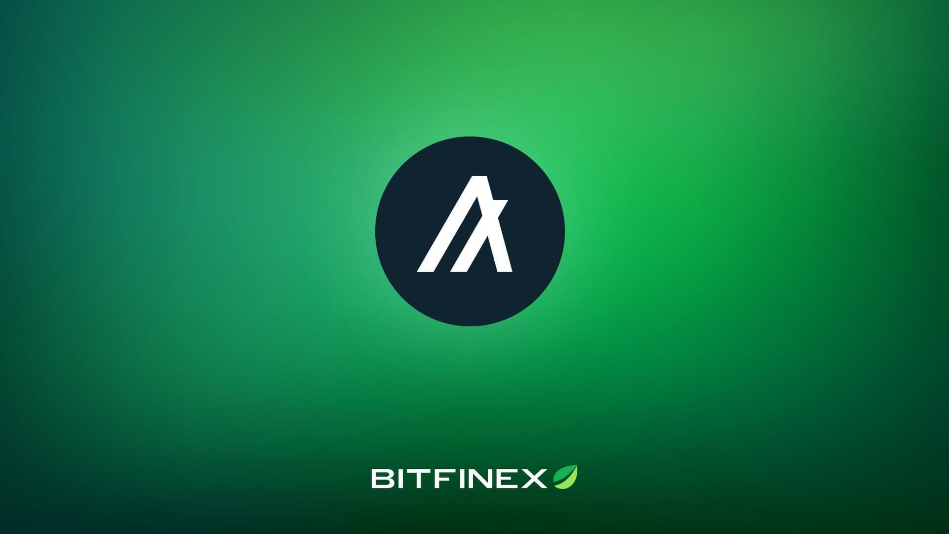 algorand bitfinex