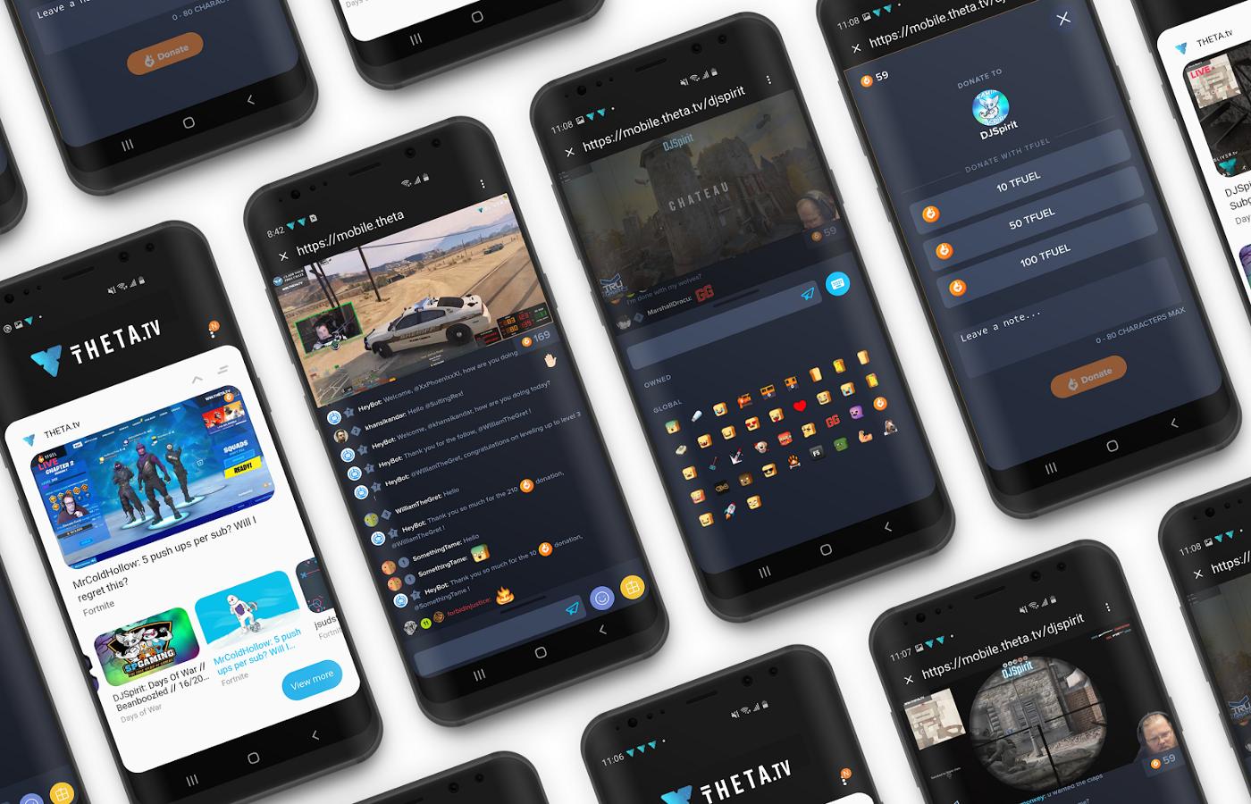 Blockchain de THETA.tv estará disponible en los teléfonos Galaxy y Note de Samsung
