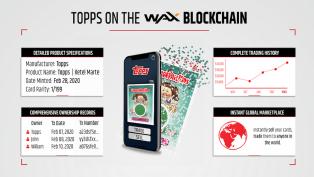 Topps ahora ofrece cartas coleccionables en la blockchain de WAX