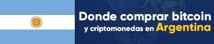 Donde comprar bitcoin y criptomonedas en Argentina